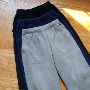 Hanna Andersson, Lot of 3, Fleece Pant, Size 3